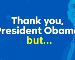 Thank You, President Obama, But…(F.I.T.E. VIDEO)