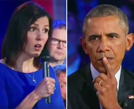 """""""American Sniper"""" Chris Kyle's Widow and President Obama Square Off (VIDEO)"""