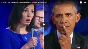 00040 - Chris Kyle's Widow and Pres. Obama