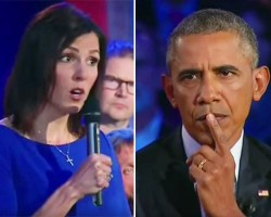 """American Sniper"" Chris Kyle's Widow and President Obama Square Off (VIDEO)"