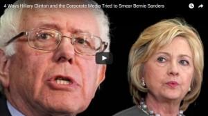 00049 - 4 Ways Hillary Clinton and the Media Smear Bernie Sanders