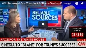 CNN's Lack of Sanders Coverage