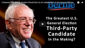 00053 - 3 Reasons Why Bernie Sanders Should Run As An Independent