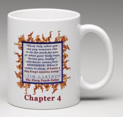 """SCREW YOU!"" v.1 Book, Chapter 4 Mug (Back)"