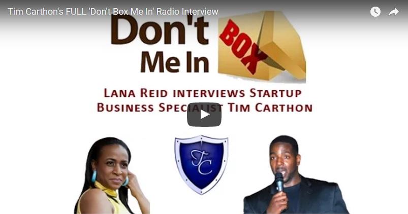 00057 - Tim Carthon's FULL 'Don't Box Me In' Radio Interview