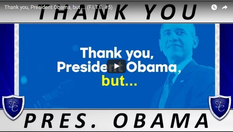 00088 - Thank you, President Obama, but (F.I.T.E.)