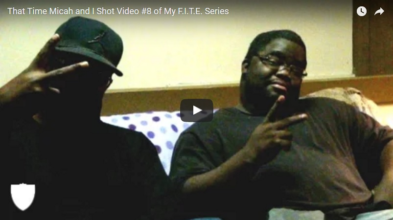 Vlog 00023 - That Time Micah and I Shot Video #8 of My F.I.T.E. Series